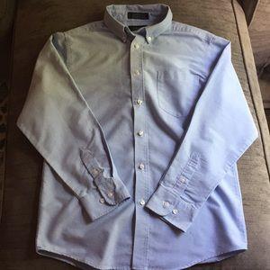 Izod boys' button down dress shirt